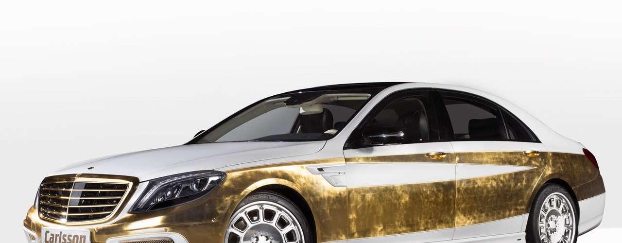Pure Gold Mercedes Benz S -Class Carlsson CS50 Versalles Edition. El ...