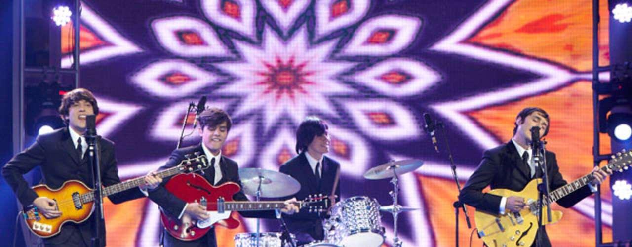The Beatles: ha sido una de las imitaciones que más ha impactado a los jurados en 'Yo me llamo'.