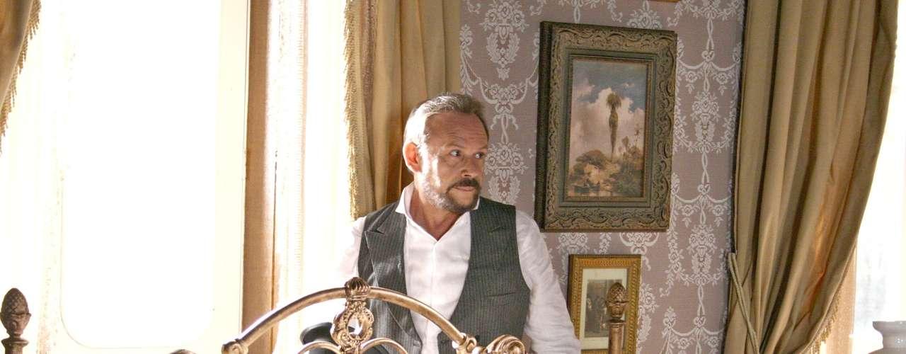 José Wilker fallecióeste sábado a la mañana, víctima de un infarto fulminante, en su casa de Río de Janeiro.En esta foto, el actor en'Amazônia'
