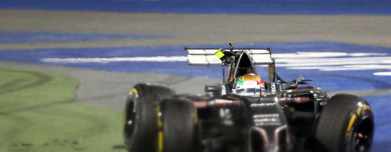 Los comisarios de pista acordaron la sanción para Maldonado después de considerarle responsable del accidente.