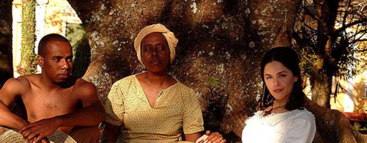 isaura la esclava personajes: