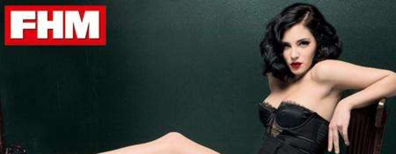 Andrea Duro mostraba su lado más sensual en 'FHM'.