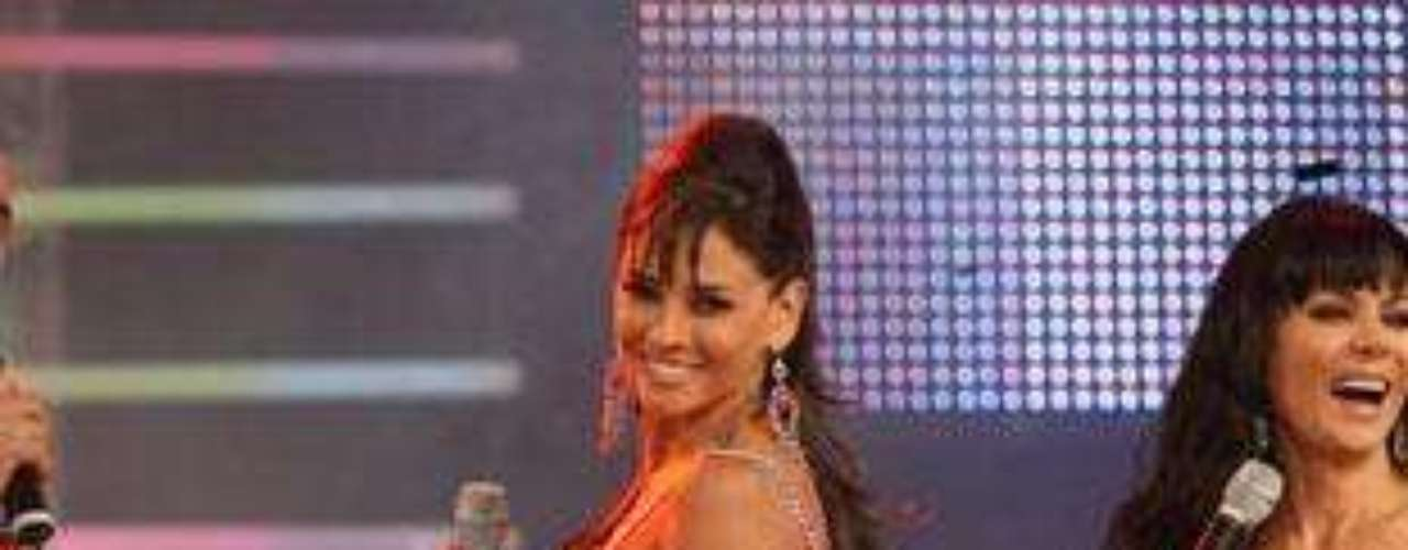 La modelo y actriz argentina, Dorismar, da vida 'Linda' la amante de 'Osvaldo' en la telenovela 'Triunfo del amor'.