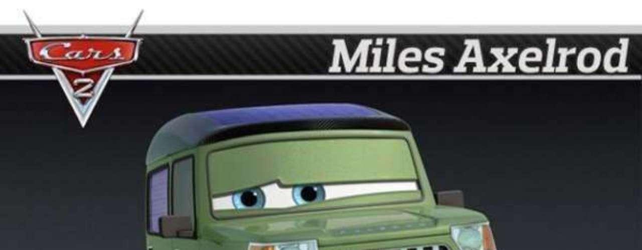 Foto Miles Axelrod - Range Rover