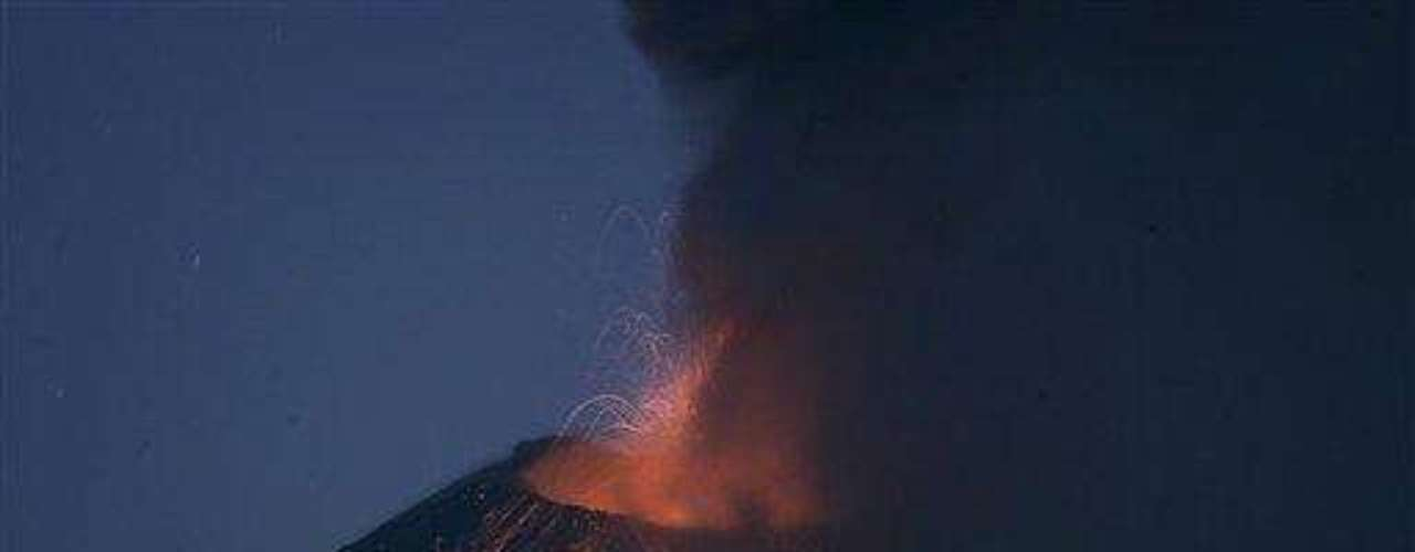 Ecuador has suspended school in four towns near the Tunguarahua volcano as ash spews 2 1/2 miles (4 kilometers) into the sky, damaging crops and endangering the health of nearby residents.Authorities are urging people to cover their mouths and noses with masks and shut windows amid the furious venting of Tunguarahua that began Monday.The state Geophysical Institute said Tuesday that lava is flowing from the summit caldera down the flanks of the 16,480-foot (5,023-meter) peak. The volcano is 85 miles (135 kilometers) southeast of Quito.The Education Ministry says classesin the nearby towns will be suspended at least through Wednesday.Tunguarahua has been active since 1999. Its eruptions killed at least four people in 2006.