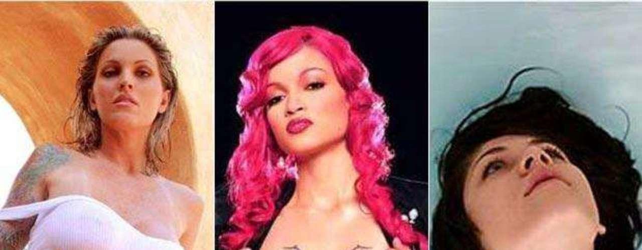 Estas sensuales celebridades te deleitarán con el arte en su cuerpo.