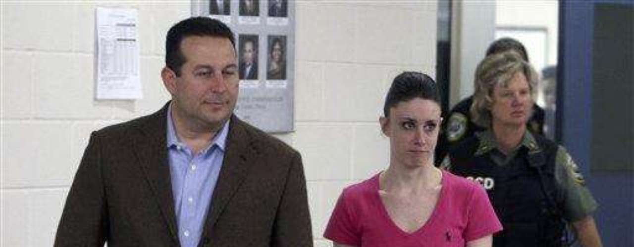 July 17, 2011: Casey Anthony was freed from a Florida jail early Sunday, 12 days after she was acquitted of murder in the death of her 2-year-old daughter Caylee in a verdict that drew furious responses and even threats from people across the U.S. who had followed the case with rapt attention.Anthony, wearing a pink T-shirt with blue jeans, left the jail at 12:14 a.m. local with her attorney, Jose Baez. She was given $537.68 in cash from her jail account and escorted outside by two sheriff's deputies armed with semiautomatic rifles. Neither Anthony nor Baez said anything to reporters and others gathered outside.Anthony, 25, had been finishing her four-year sentence for telling investigators several lies, including that Caylee was kidnapped by a nonexistent nanny. With credit for the nearly three years she's spent in jail since August 2008 and good behavior, she had only days remaining when she was sentenced July 7.Casey Anthony Might Move to Puerto Rico after JailTerra Exclusive I