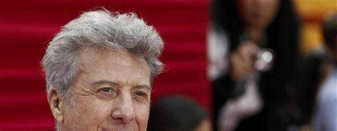 """Cast member Dustin Hoffman arrives at the premiere of """"Kung Fu Panda 2"""" in Los Angeles, Sunday, May 22, 2011.  The film opens May 26, 2011. (AP Photo/Matt Sayles)"""