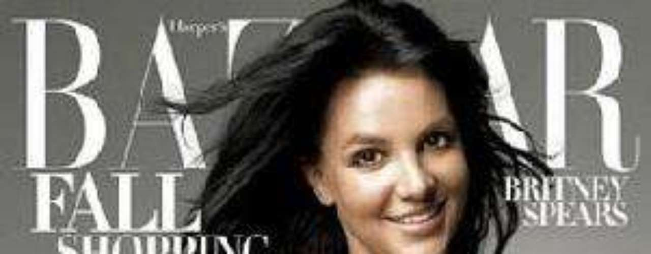 Britney Spears en otra portada de Bazaar.