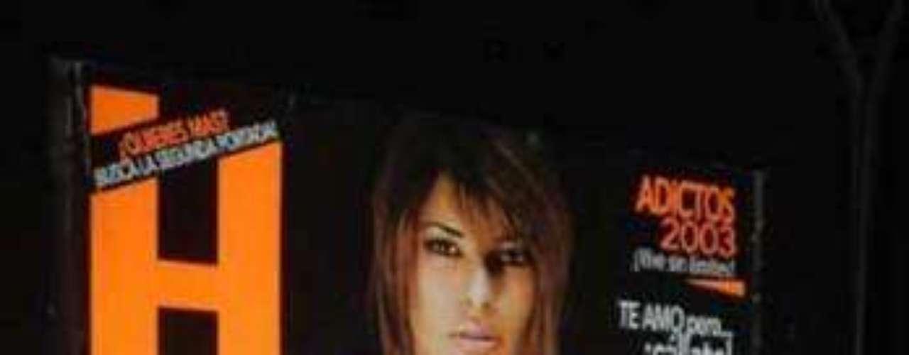 En 2003 Gali se alació el cabello, lo oscureció un poco y optó por usar ropa sensual.  Los vestuarios con escotes eran sus preferidos.