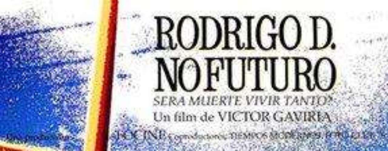 """""""Rodrigo D no futuro"""". Cuando un joven está a punto de suicidarse, se detiene el tiempo y empieza a reconsiderar lo que ha sido su vida hasta el momento."""