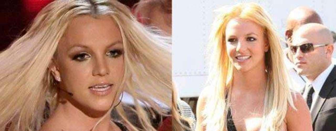 Britney Spears es una de las celebridades que tuvo que lidiar con el sobrepeso después de dar a luz a sus hijos. Después de muchos esfuerzos, ha logrado regresar a una talla chica. ¡Bien por ella!