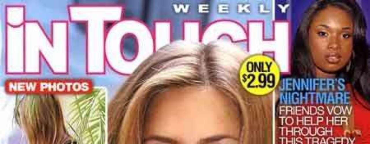 La revista In Touch puso en su portada: Jenn se ve embarazada y sugirió que fue es la razón por la que la actriz retomó su relación con John Mayer.