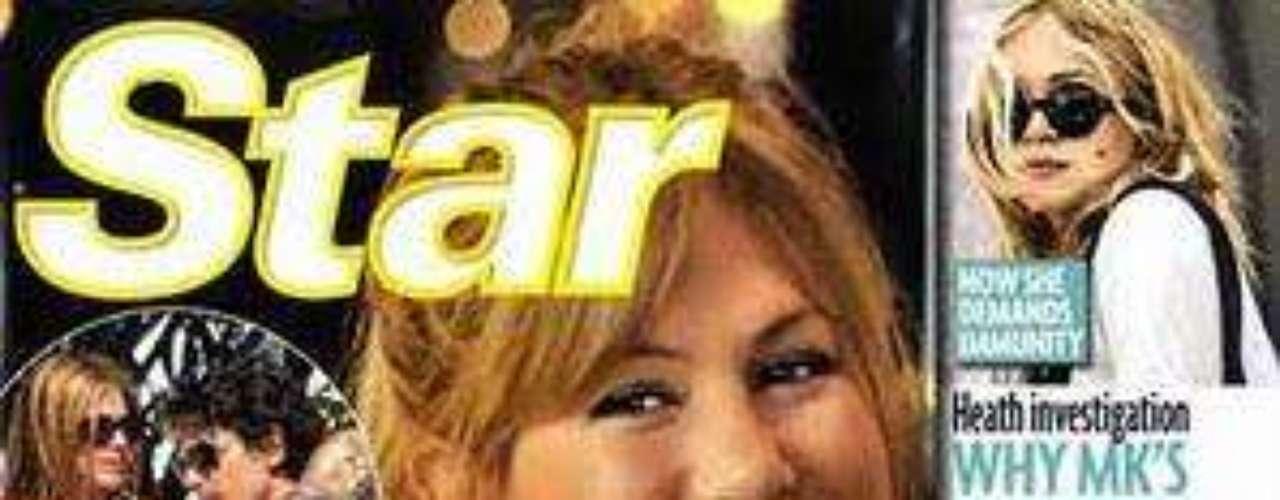 Ahora es mi turno: otra portada de la revista Star que habla de un supuesto embarazo de Jennifer Aniston.