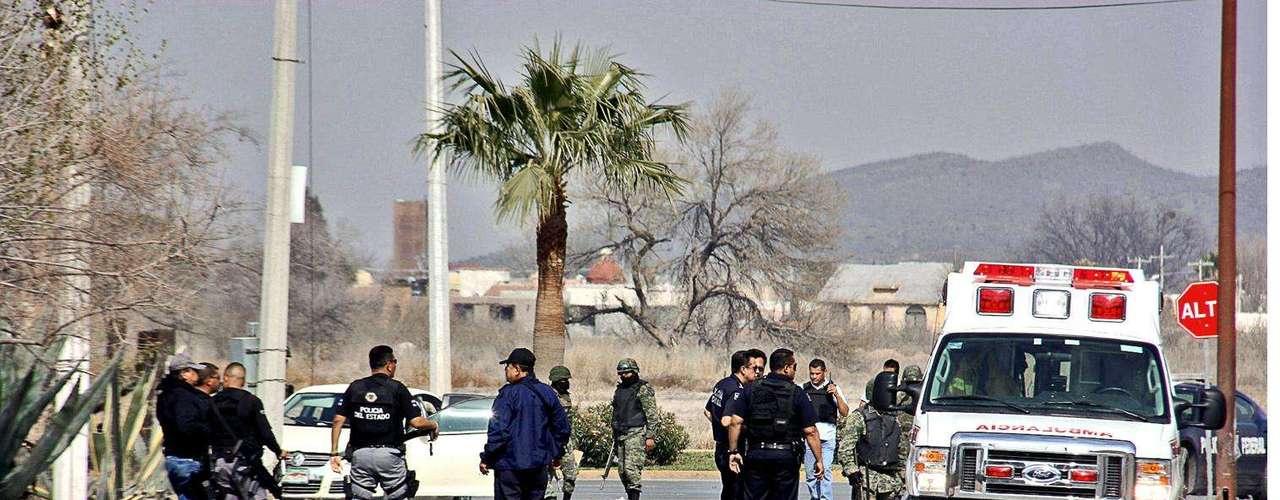 23-enero-2012.- Balaceras en Saltillo, Coahuila. Cuatro muertos fue el saldo de una serie de enfrentamientos registrados esta tarde en Saltillo.