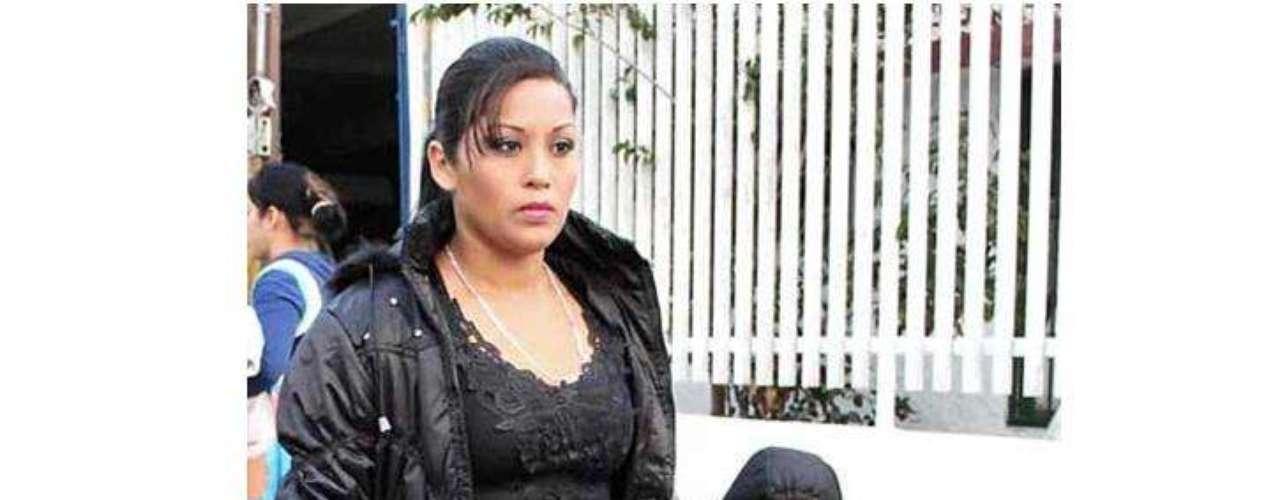 Brenda Judith Saldaña y el pequeño Gerson Eduardo acudieron esta mañana al Ministerio Público para ratificar su denuncia por desaparición.