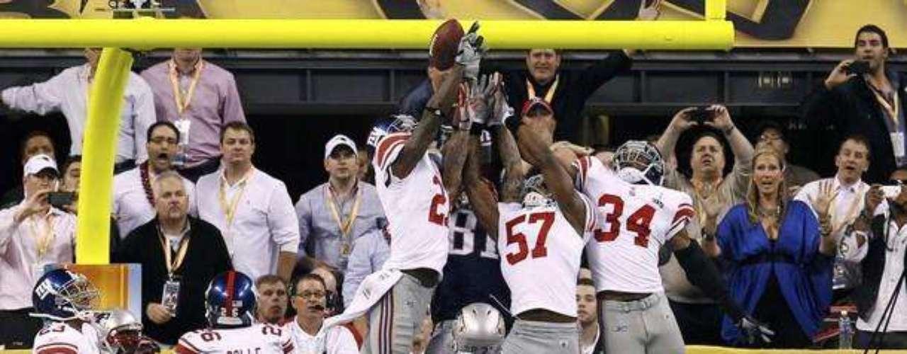Así fue la última jugada, un Super Bowl muy parejo hasta el último segundo