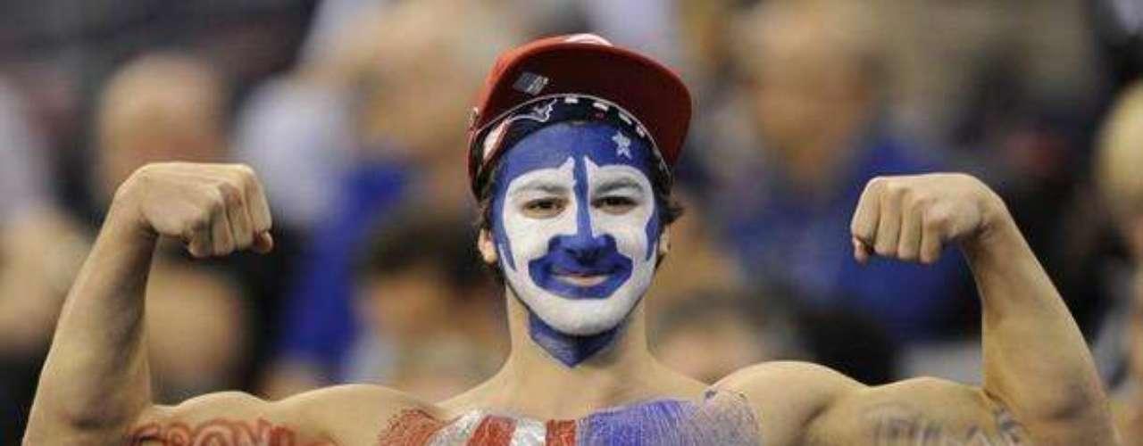 Los aficionados de los Patriotas lucían confiados antes del partido