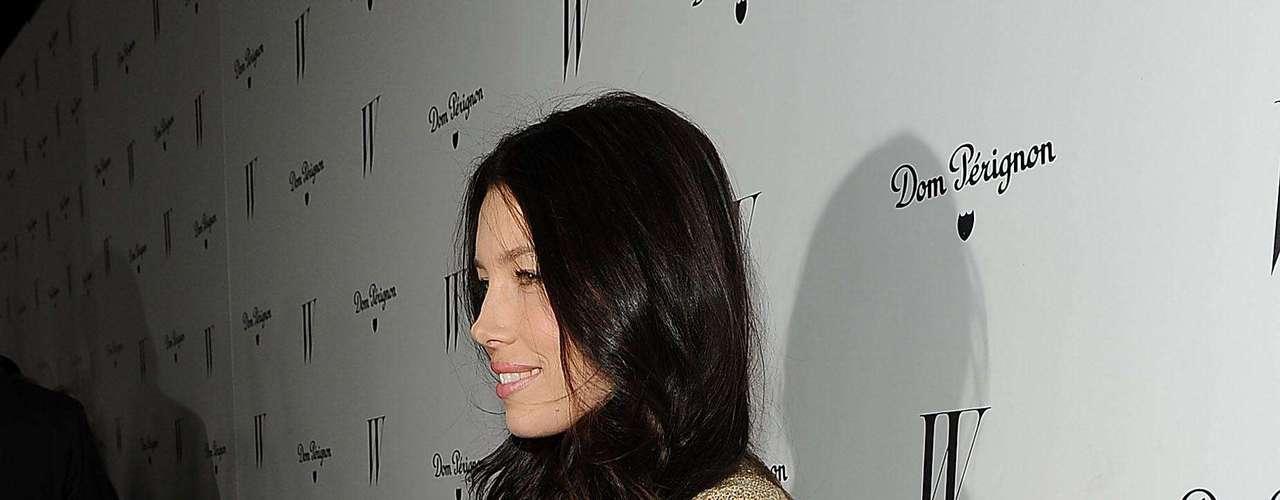 La actriz estadounidense, Jessica Biel, de 29 años de edad, se llevó el sitio 12 en la lista de la revista Zoo