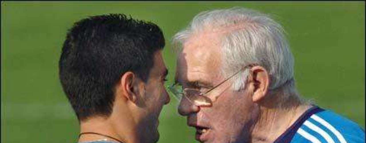 Former Spain coach Luis Aragonés during a game against France told player José Antonio Reyes to show that ´black of s**t' he was better, referring to Thierry Henry. The Spanish Federation was fined and Aragonés said later he was not a racist. Brazilian player Marcos Senna who played for Spain and is black also defended Aragonés.