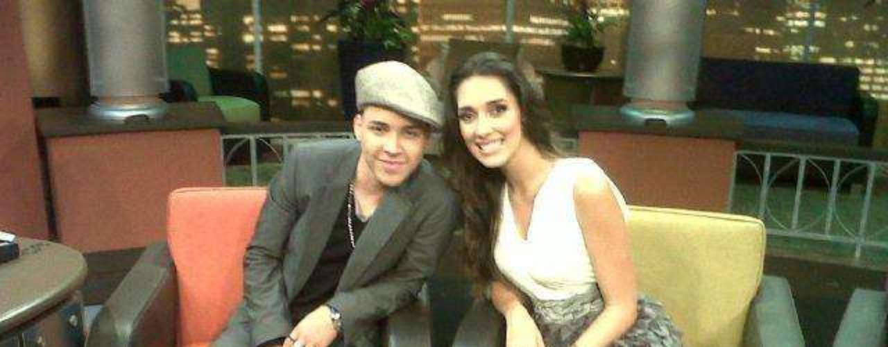 Royce does love beautiful girls.