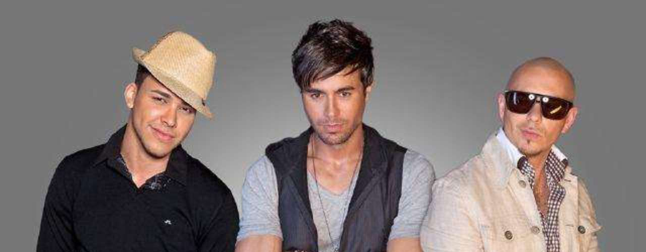 Royce twitted the promotional image for his tour with Pitbull and Enrique Iglesias.