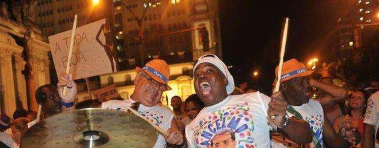 La banda marcó el ritmo de la noche en el festival de Río