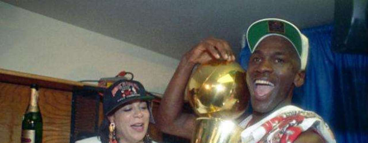 Jordan was the MVP of that final, defeating the Lakers in five games to kick off the Bulls dynasty.