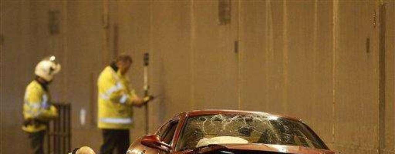 El jugador más caro de toda la historia, Cristiano Ronaldo, se vio envuelto en un accidente en Inglaterra. En 2009 cuando jugaba para Manchester United estrelló su Ferrari mientras se dirigia al entrenamiento. La prueba de alcoholemia salió negativa