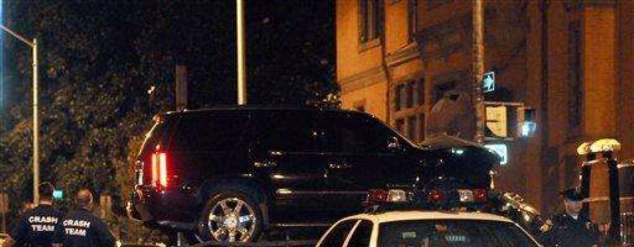 El nadador Michael Phelps sufrió un accidente en su camioneta en Baltimore, Estados Unidos. El hecho sucedió en agosto de 2008