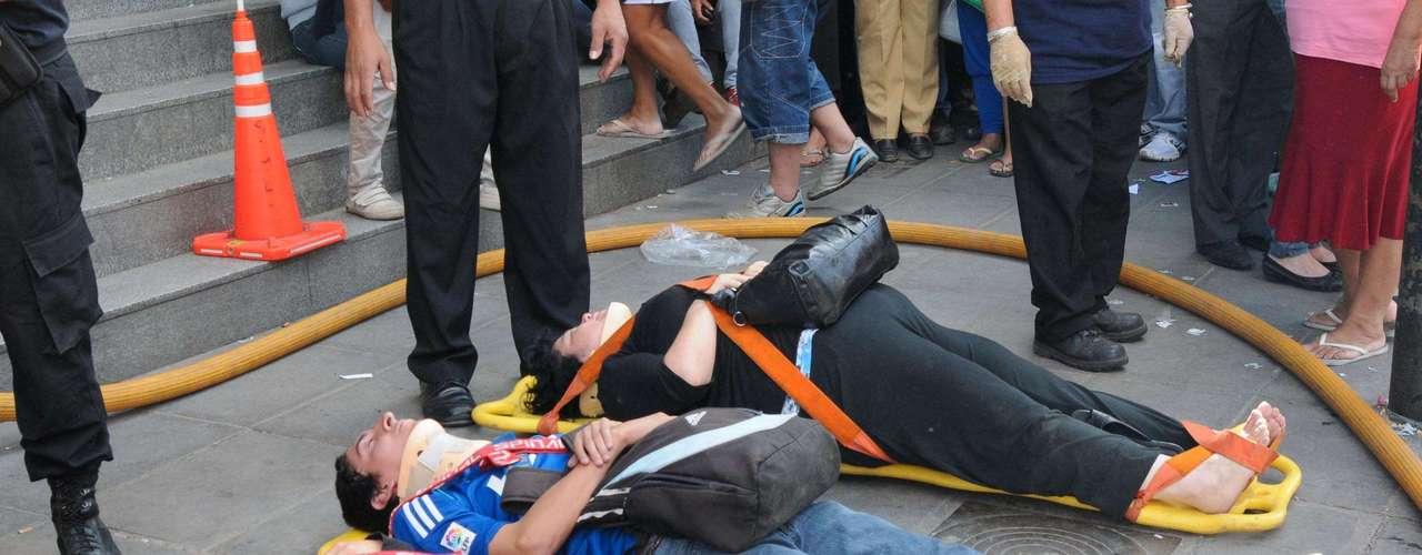 El 22 de febrero de 2012, una formación de la línea Sarmiento no logró frenar cuando llegaba a la cabecera de Once, descarriló y chocó contra otra que estaba detenida en la estación. Un total de 51 personas perdieron la vida y más de 500 resultaron heridas.