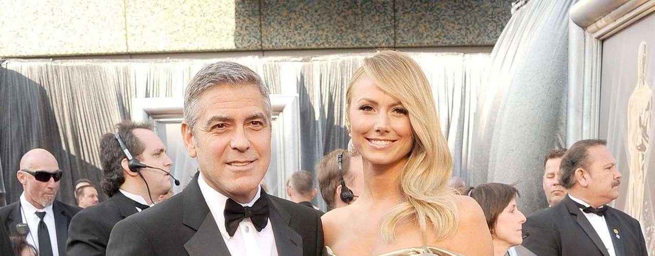 George Clooney con la deslumbrante Stacy Kiebler