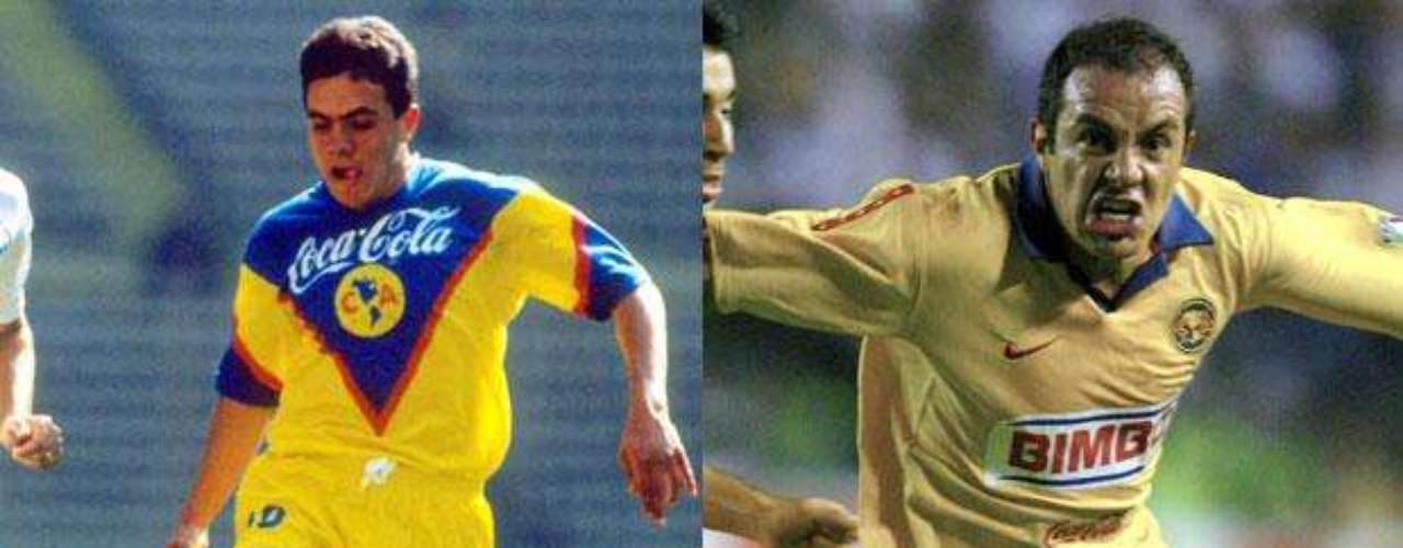Cuauhtémoc Blanco debuta en América el5 de diciembre de 1992. Se convierte en referente, figura e ídolo del equipo. Tiene varias etapas con las Águilas: 1992-1997, 1998-2000, 2002-2004 y 2005-2007.
