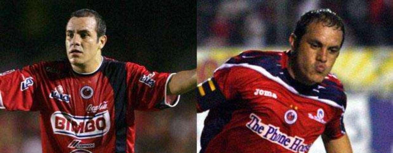 Cuauhtémoc Blanco también fue figura en el Veracruz. Con los Tiburones Rojos jugó en dos etapas: 2004 y 2009-2010.