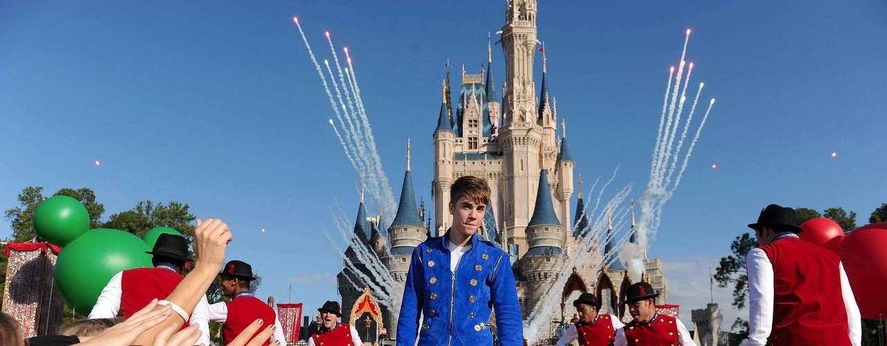 16 - Conquista Disney.  Bieber fue la estrella central en el \