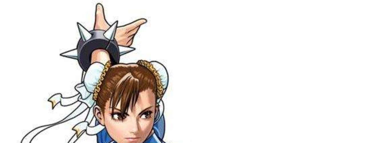 Chun Lee luce su anatomía en la serie, película y juego de video 'Street Fighter'.