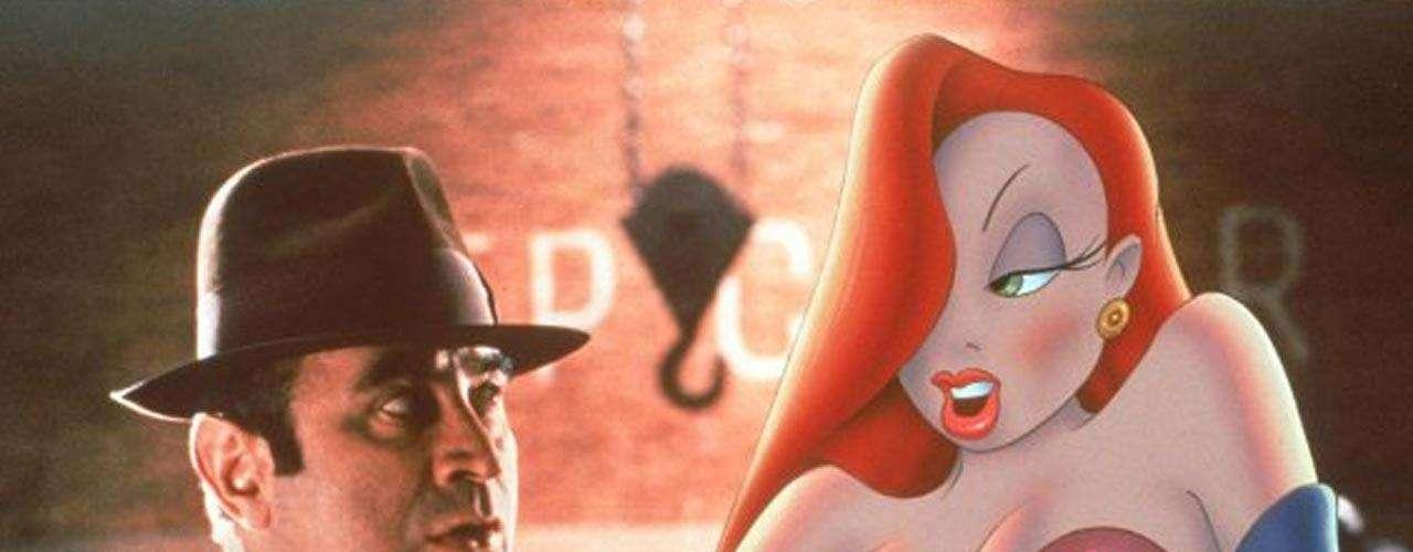 Jessica Rabbit es la sensual animación de la película '¿Quién engañó a Roger Rabbit?', de 1988.