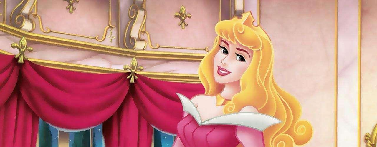 La belleza en Disney se ve reflejada en la princesa Aurora, de la historia 'La Bella Durmiente'.