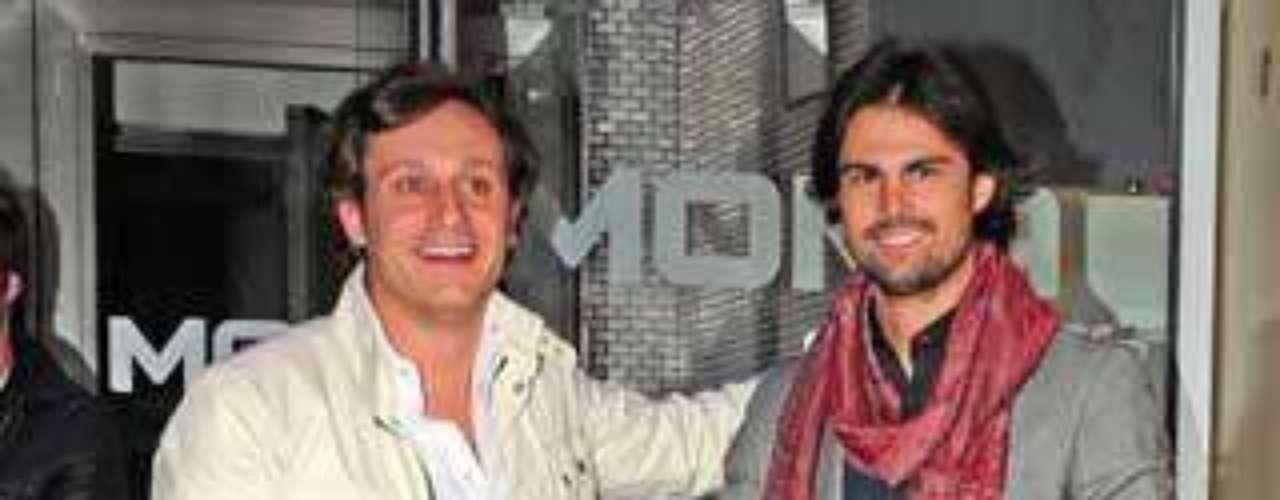 Juan Peña y Curi Gallardo en el cumpleaños de Vicky Martín Berrocal