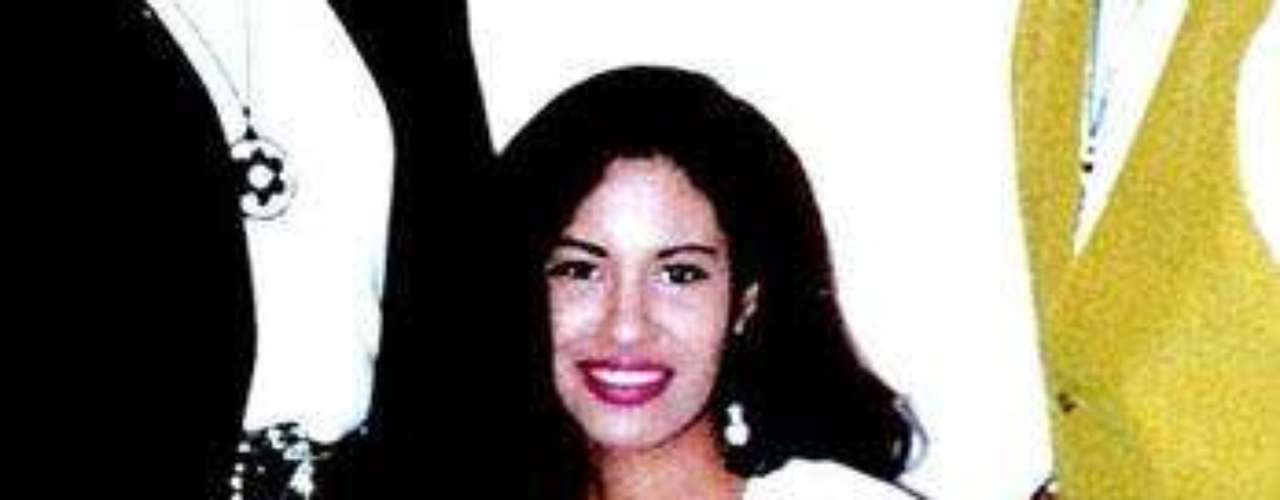 Selena en familia.
