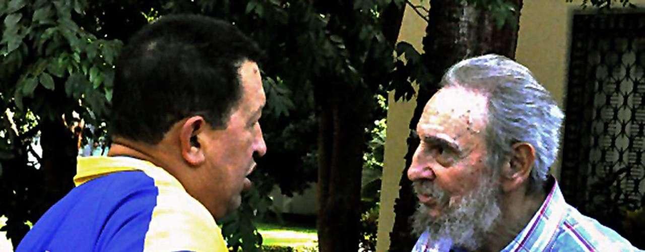10 de noviembre de 2010: Se reunió con el presidente de Venezuela, Hugo Chávez, en Caracas.