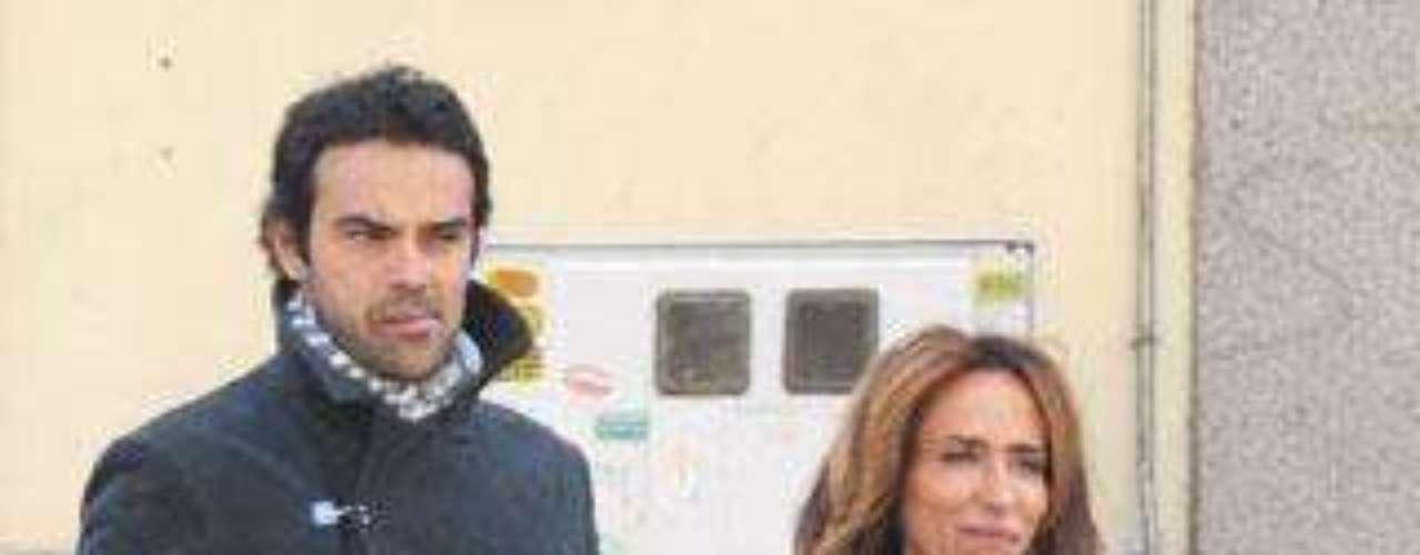 María Patiño de paseo con su novio, Ricardo, por Madrid