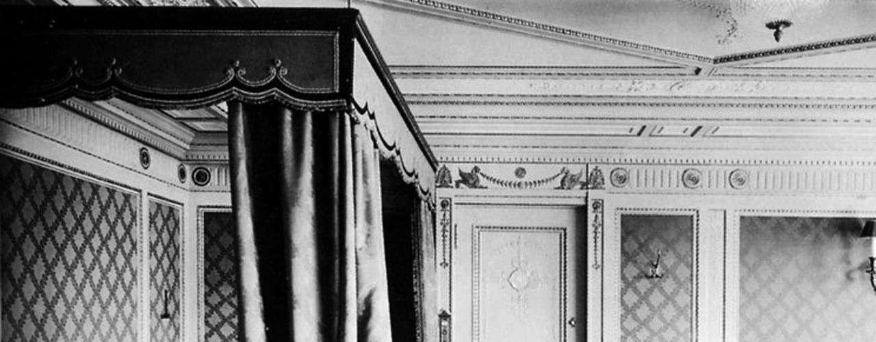 Alojamiento de la primera clase a bordo del RMS Titanic, en una foto sin fecha.