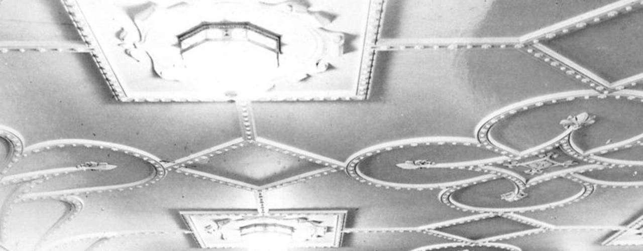 El salón de primera clase para la cena, a bordo del RMS Titanic, en una foto sin fecha.