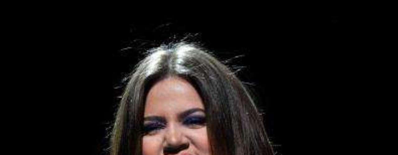10. Khloe Kardashian. Faltaba una. Con las justas, en el décimo lugar, llegó la tercera Kardashian para completar la lista de las figuras sobreexpuestas en los medios.