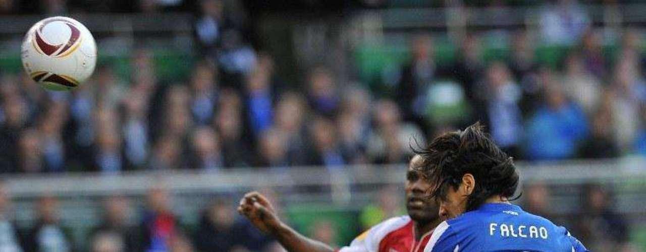 El gol llegó al minuto 44 de la primera parte. Falcao jugó 14 partidos durante la competencia