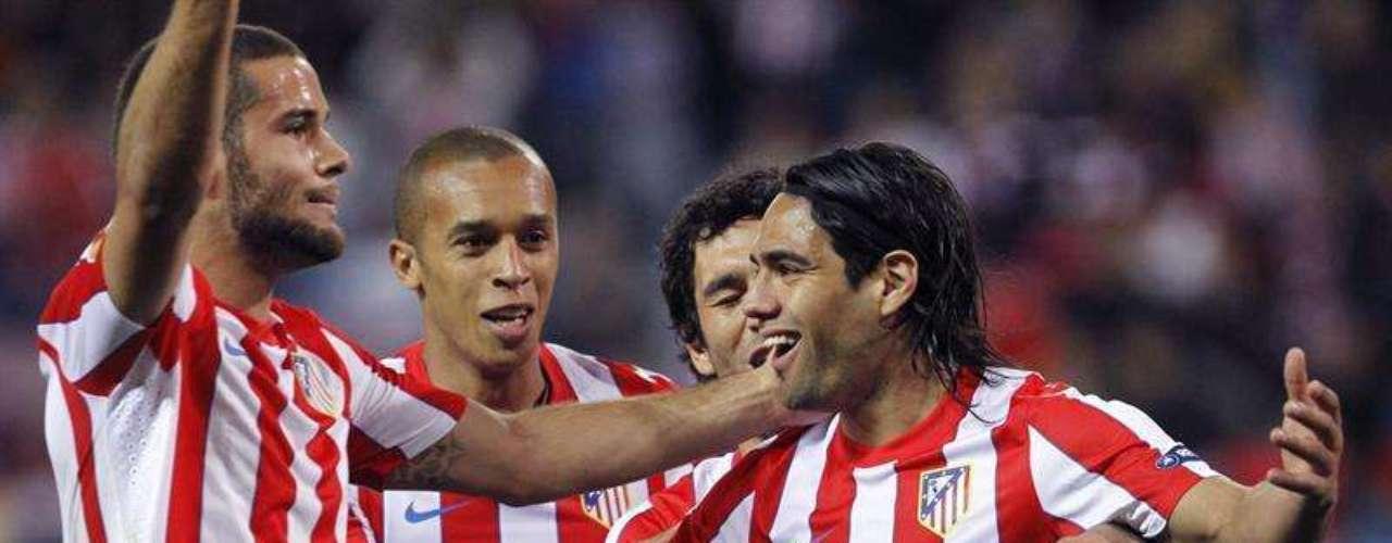 Su gol se convirtió en el gol 400 del equipo colchonero en competiciones UEFA. Otro récord que rompe el colombiano, quien también está séptimo en la tabla de goleadores a nivel mundial gracias a su desempeño en la Liga española y la Europa League