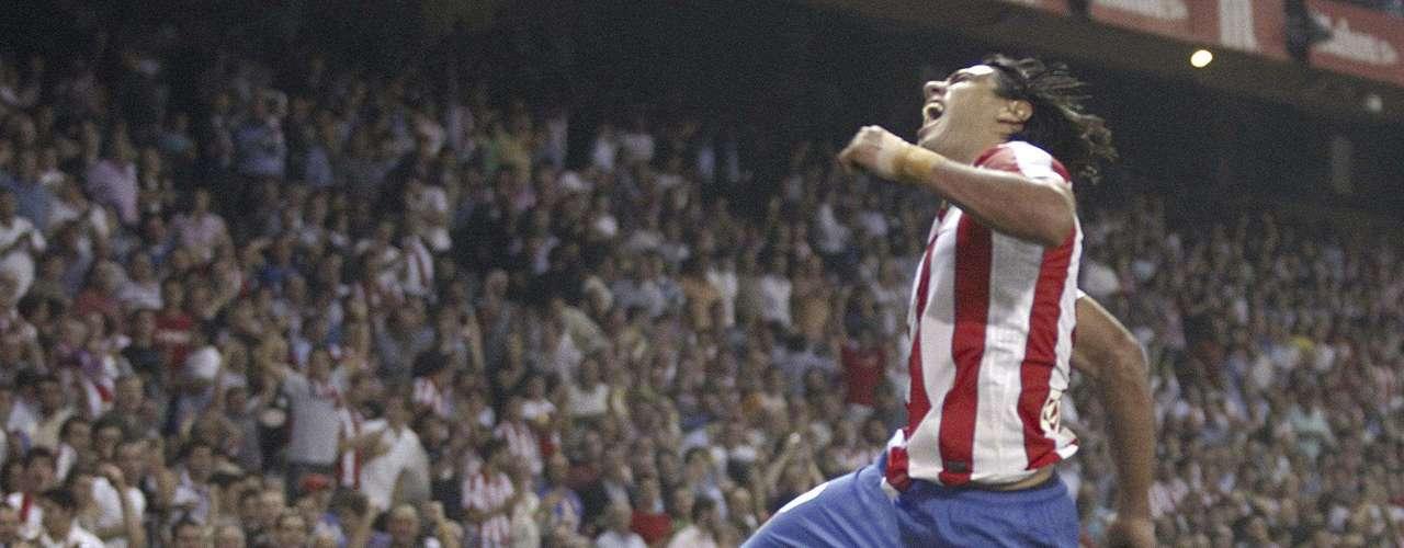 Para la quinta fecha volvió a aparecer en el marcador y sumo un doblete para sellar la victoria 4-0 sobre el Sporting, sus goles llegaron al minuto 72 y 80 en el Vicente Calderón.