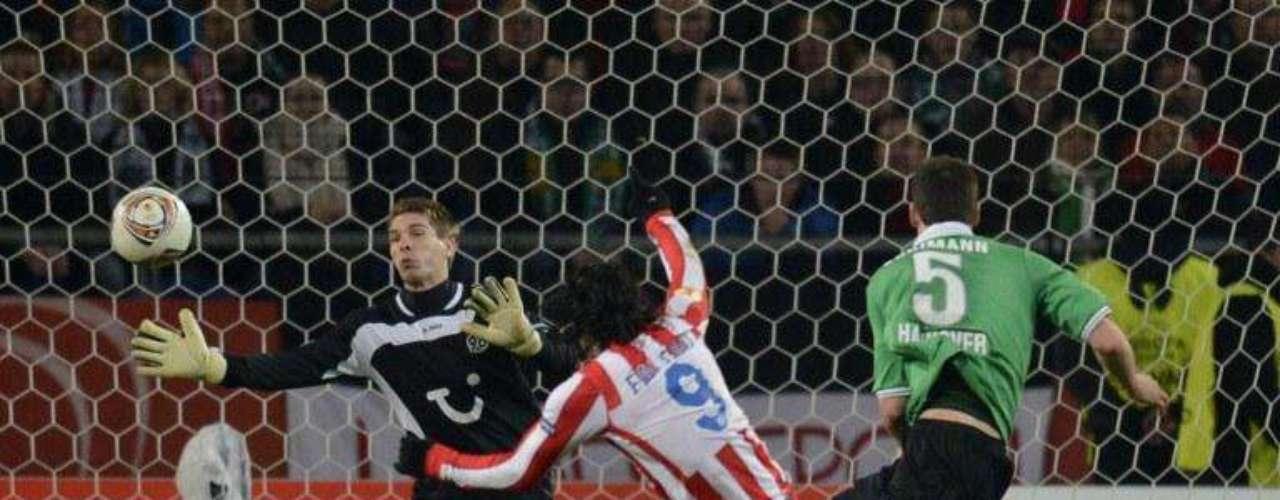 El gol que marcó en Alemania para sellar el paso a semifinales de la Europa League
