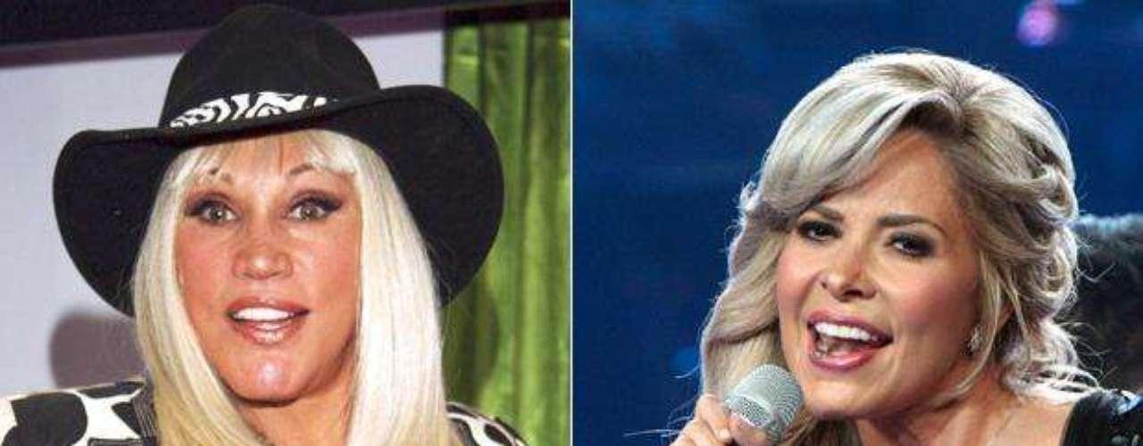 """Gloria Trevi subió a su cuenta de Twitter el tema que grabó con """"La Tesorito"""" Laura León en el 2007, desantando furor una vez más con el mágico dúo."""